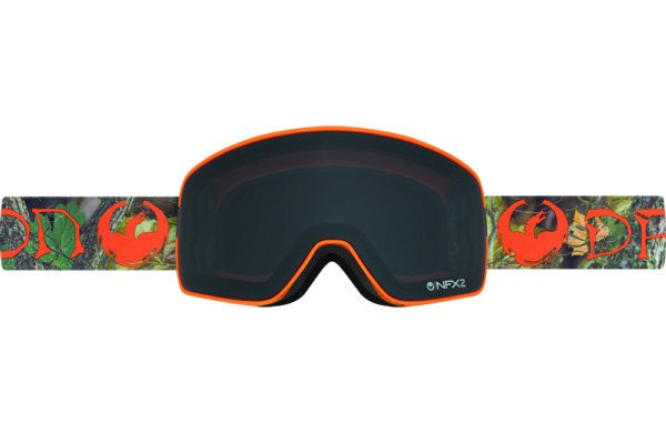 DRAGON NFX2 DANNY DAVIS SIG-DARK SMOKE+YLW RED ION LENSES SNOW GOGGLES 2017