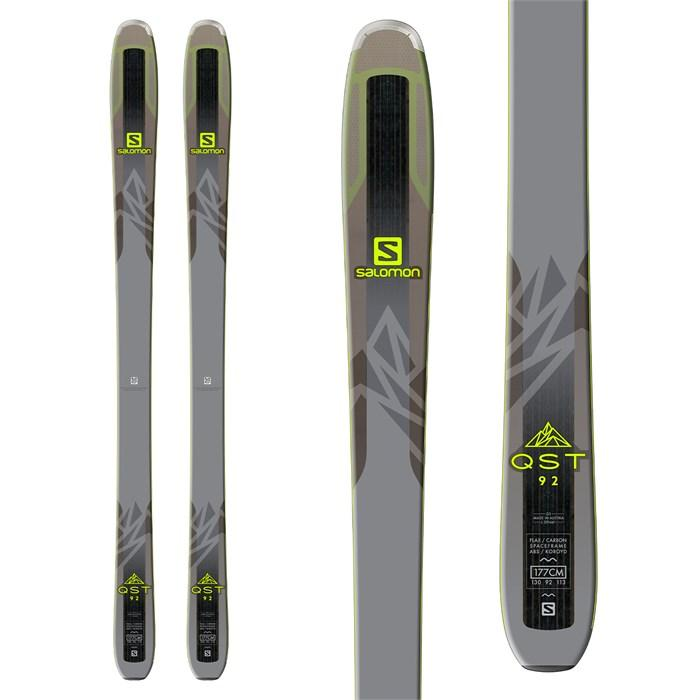 SALOMON MENS QST 92 SKIS 2018