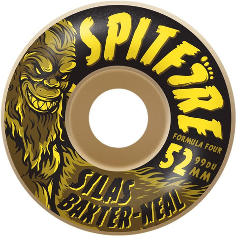 SPITFIRE F4 99 SILAS SKUNK RAD WHEELS 52
