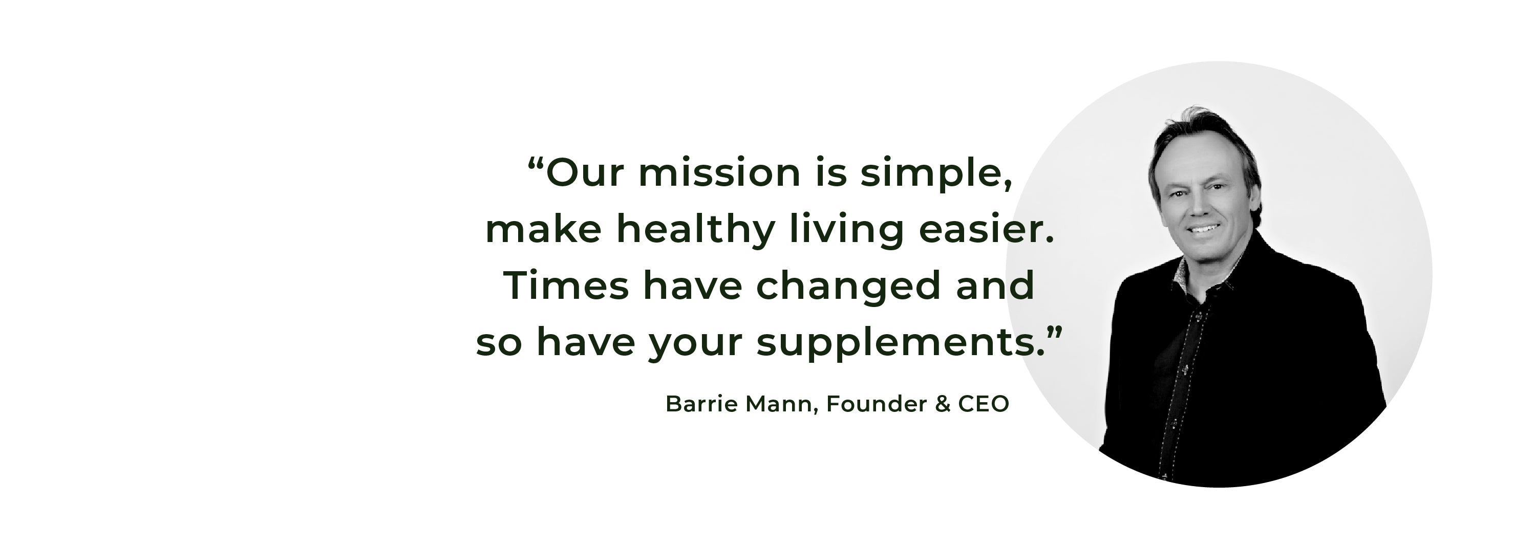 All Day Nutritionals CEO Barrie Mann