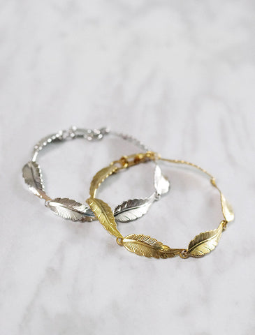eternity . twig necklace
