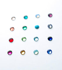 3mm bubble midi ring . colours