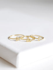 couple initial rings