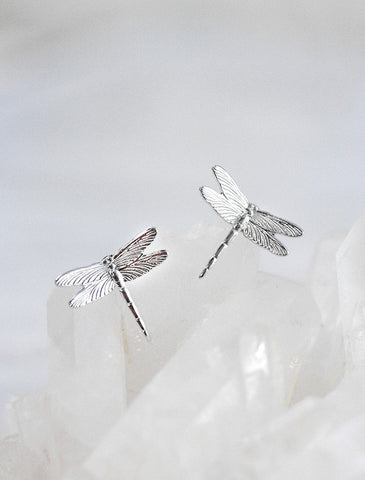 micro crystal diamond earrings