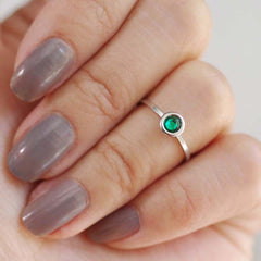 may birthstone midi ring