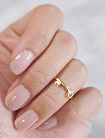 tiny orb midi ring