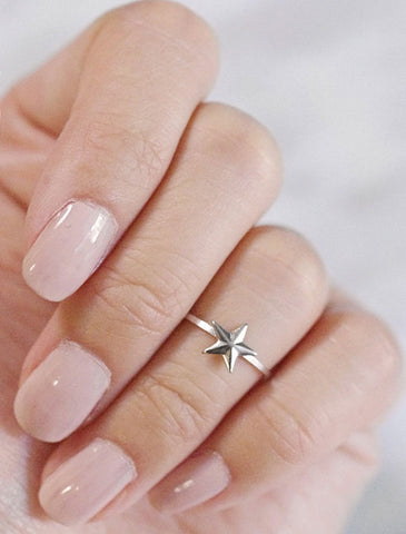 wishbone midi ring