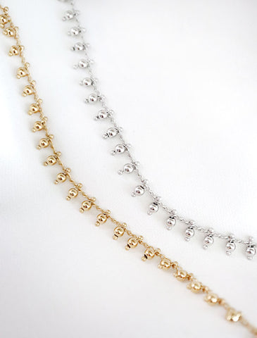 basic curb chain (thick) necklace