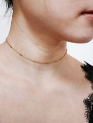 dash chain choker necklace