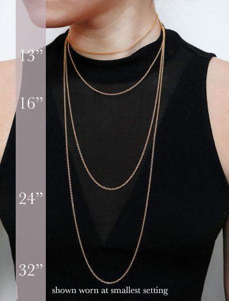 chain lengths modelled