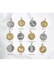 large horoscope pendant choices