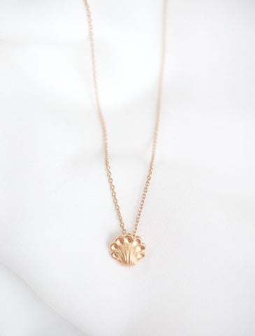 tiny moon phase necklace