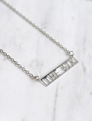 the 6ix necklace . bar