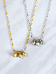 triplette necklace