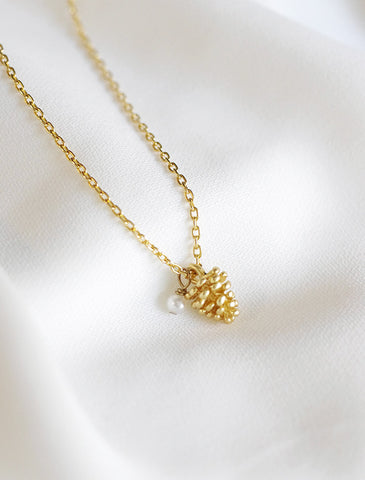 baby pine necklace