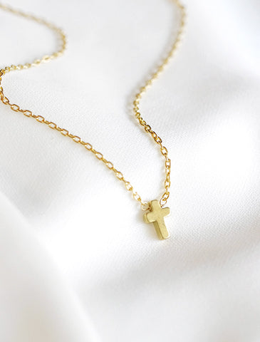 classic skinny bar necklace . vertical . short