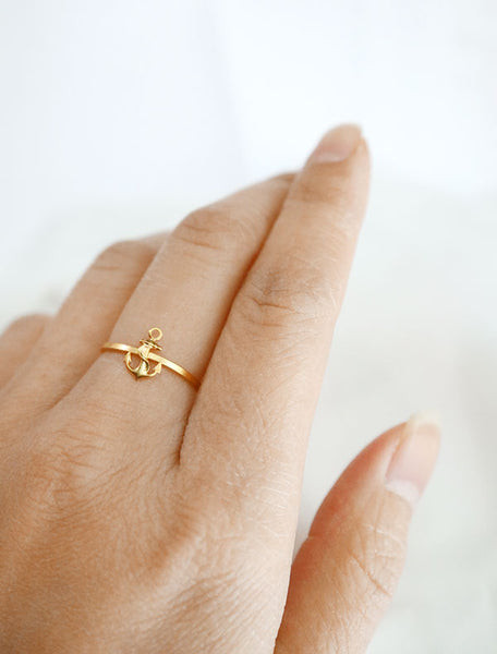 anchor stacking ring worn