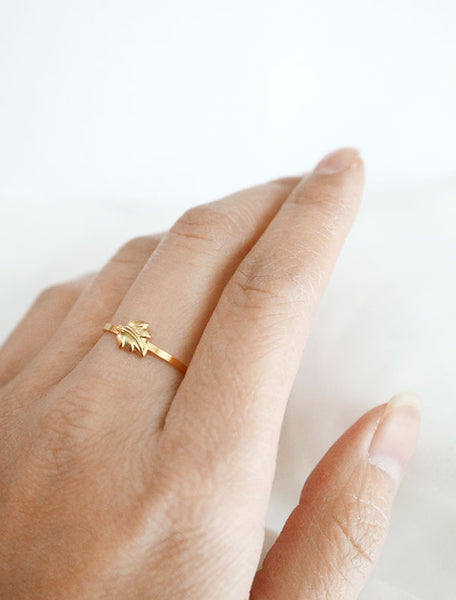 leaf stacking ring worn