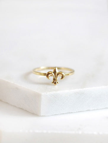 apple blossom ring
