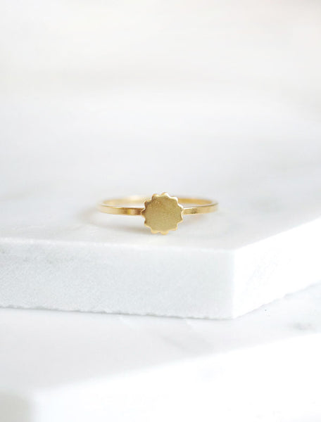 gold patisserie ring