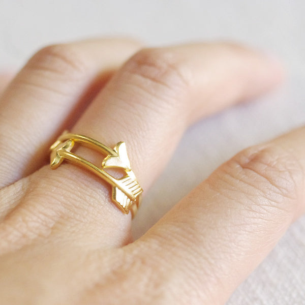 stacked arrow rings