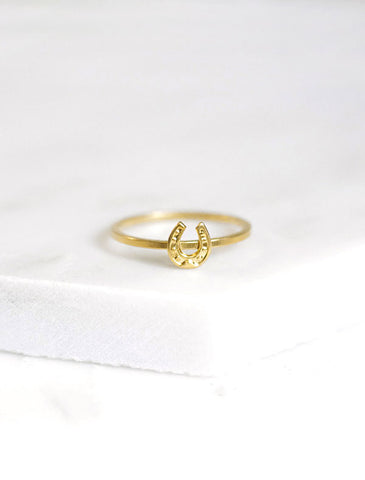 birthstone ring (4mm)