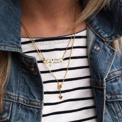 little arrow necklace