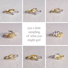! SURPRISE Stacking Rings - A $100 Value !