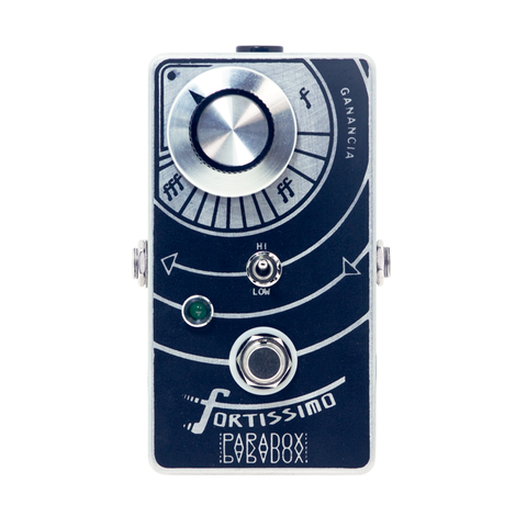 FORTISSIMO | ultra linear boost - Paradox Effects PedalesDeEfectos PedalesMexico HechoEnMexico