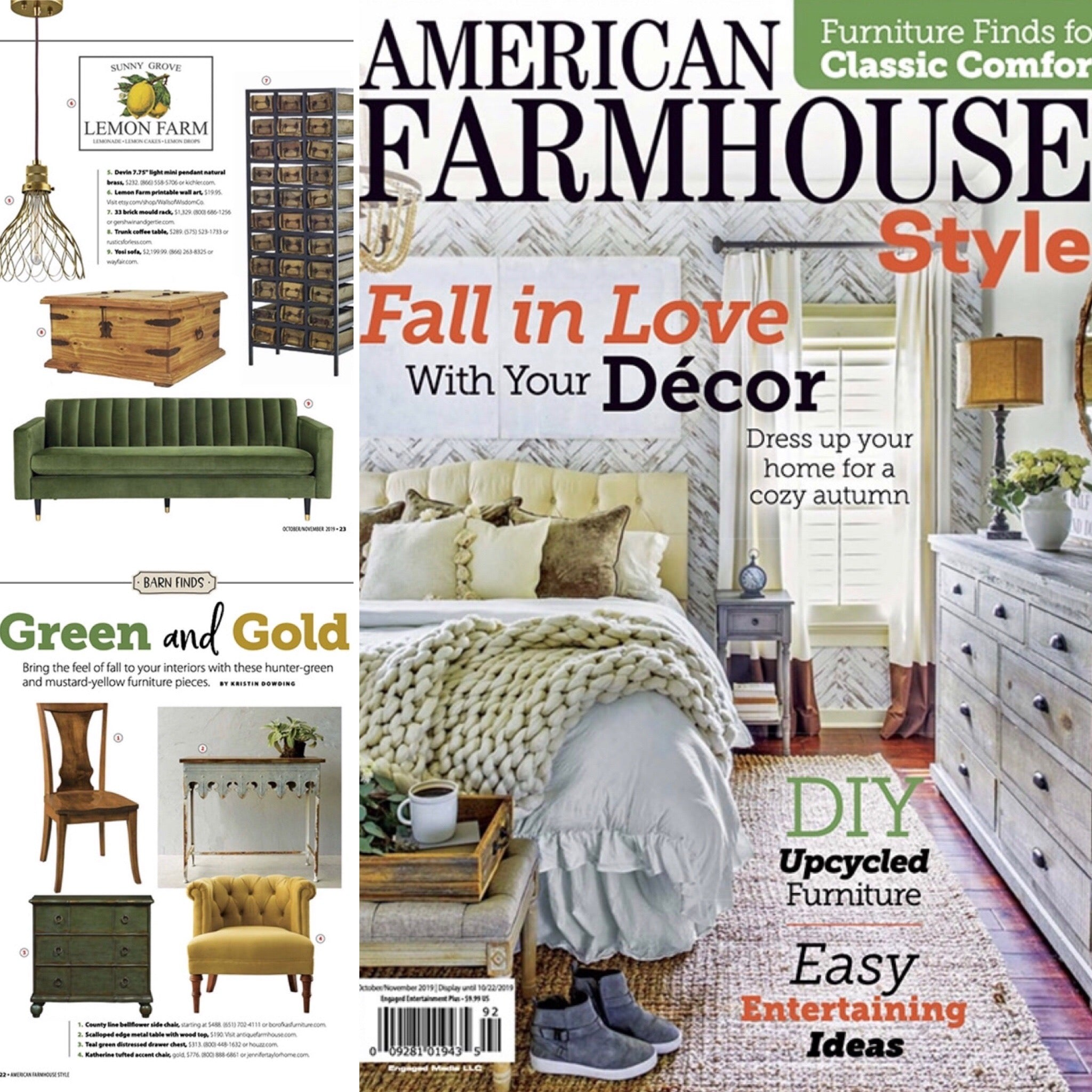 Fall in Love With Your Decor  / @americanfarmhousestyle