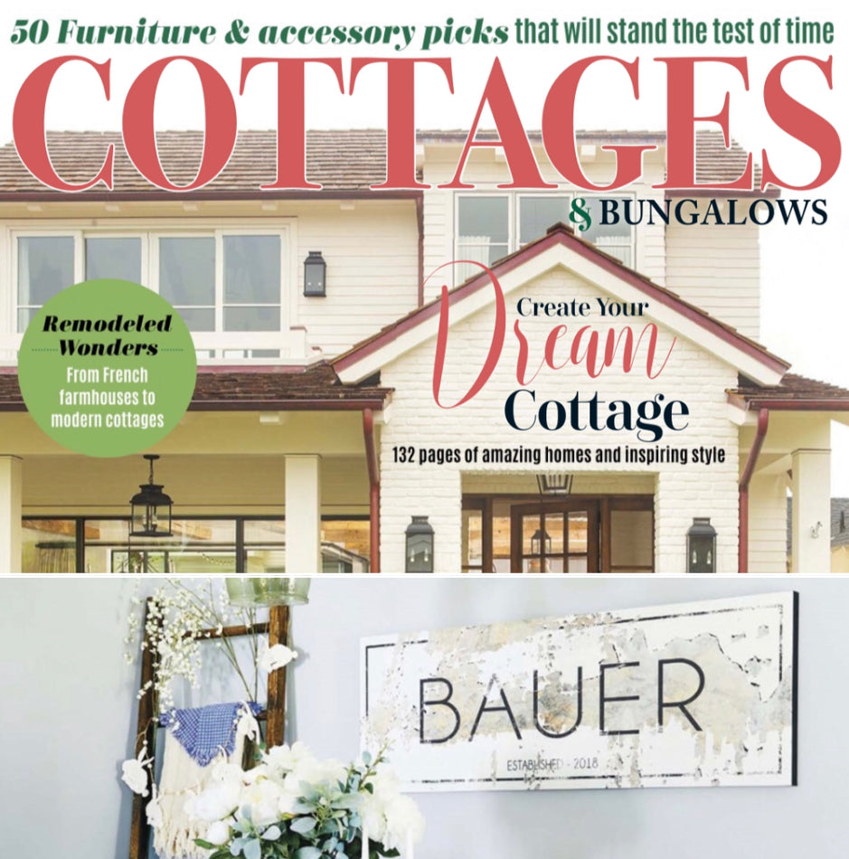Create Your Dream Cottage / @thebauerfarmhouse