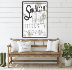 Souther Feed and Seed Sign Printable Wall Art