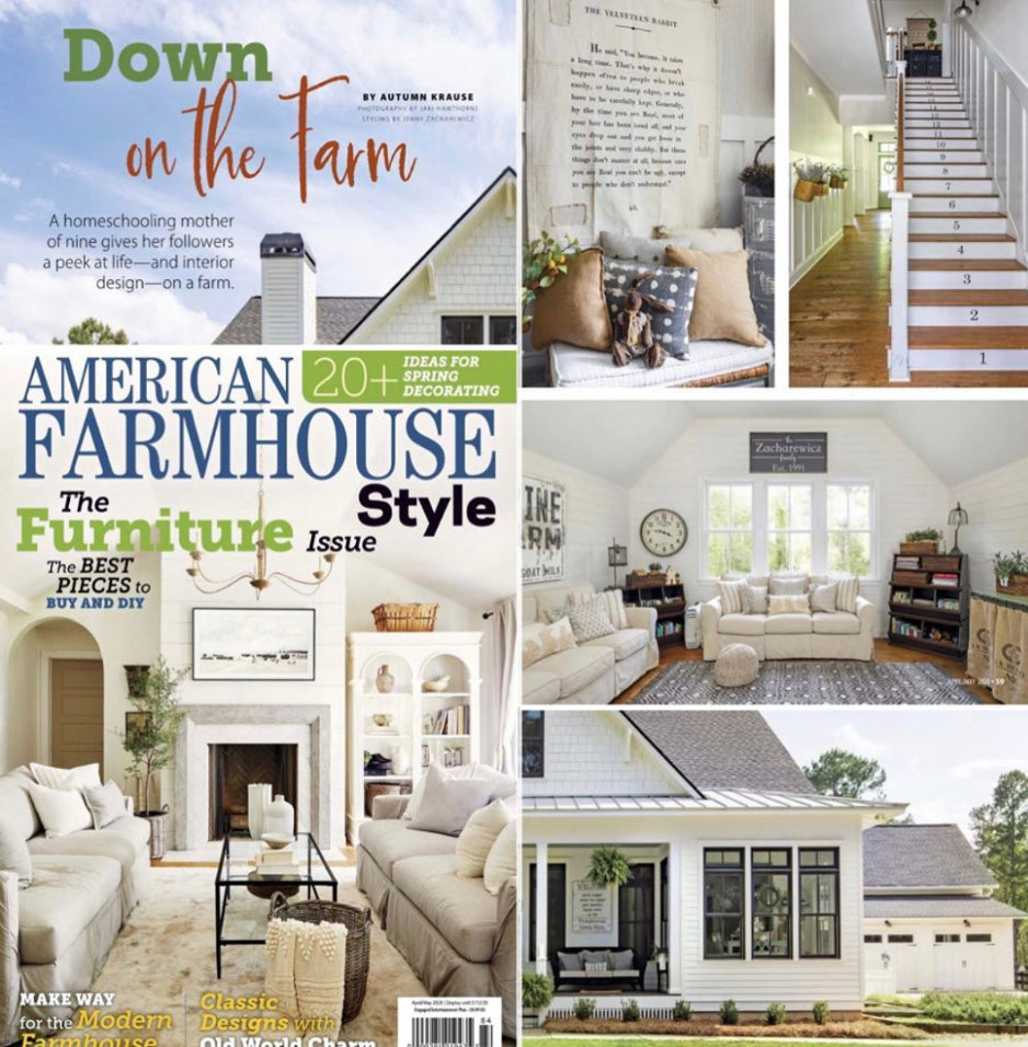 American Farmhouse Style / @bigfamilylittlefarmhouse