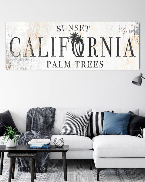 California Modern Wall Art