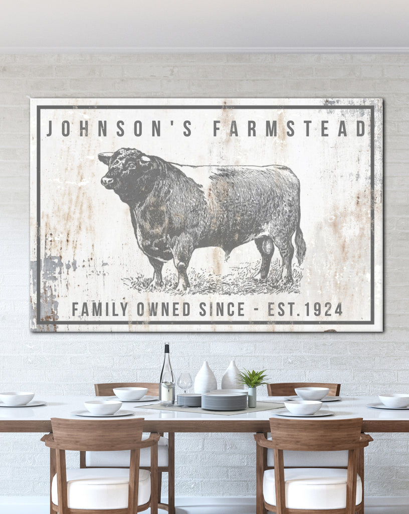 Personalized Home Decor Farm Sign - Personalized Gift ...