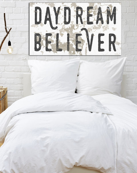 Daydream Believer Canvas Wall Art by Walls of Wisdom