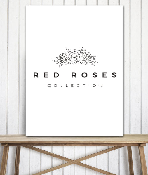 Solid White Business to Logo Canvas Print Wall Art - LT10