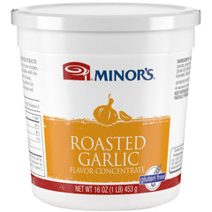 Minor's Garlic Roasted Concentrate- 1 lb. Jar (#14206)