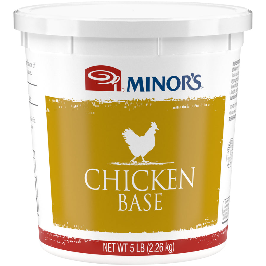 Minor's Chicken Base - 5 lb. Pail