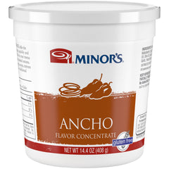 Minor's Ancho Concentrate- 14.4 oz. Jar (#68006)