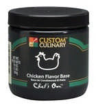 Custom Culinary Chef's Own Chicken Flavored Soup Base - 25lb Pail