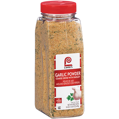 Lawry's Garlic Powder with Parsley - 24 oz. Jar (#11348)