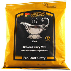 Custom Culinary PanRoast Brown Gravy Mix - 12 oz. Bag (#17649CPAN)