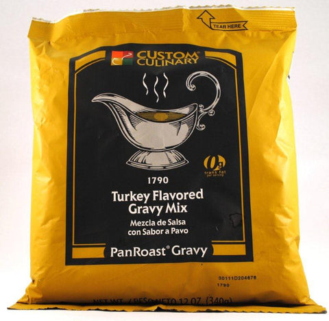 Custom Culinary PanRoast Turkey Gravy Mix - 12 oz. Bag