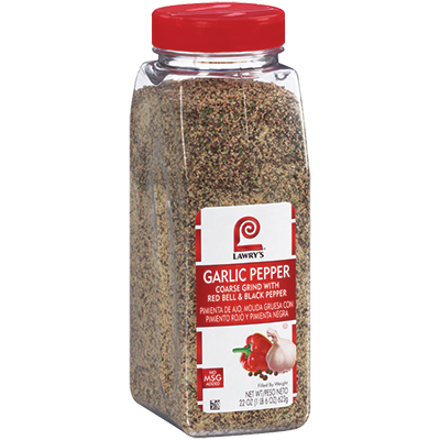 Lawry's Garlic Pepper - 22 oz. Jar (#32013)