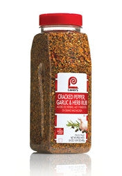 Lawry's Cracked Pepper, Garlic & Herb Rub