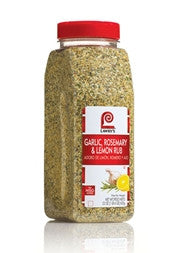 McCormick/Lawry's- Garlic, Rosemary, and Lemon Rub 22 oz. Jar