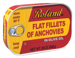 Roland Anchovy in Olive Oil- 28 oz. Tin (Item #18060)