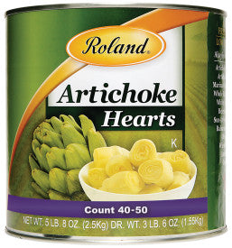 Roland Artichoke Hearts- 3 Kg. Can (Item #40530)