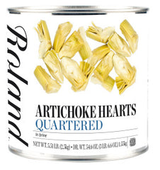 Roland Artichoke Quartered - 3 Kg. #10 Can (Item # 40512)